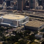 Amway center Aerial View
