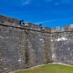 Interior walls of Castillo de San Marcos