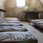Soldier beds in Castillo de San Marcos