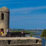 Lookout tower on Castillo de San Marcos