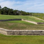 Moat around Castillo de San Marcos